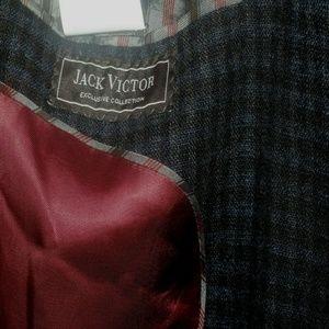Jack Victor Collection Mens 44 R Sport Coat Blazer